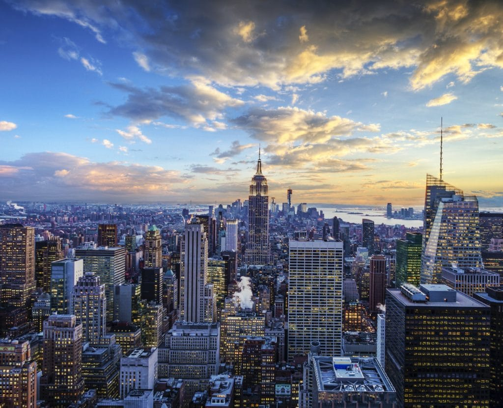 New York City Skyline - Midtown and Empire State Building | attractions near The Jewel Hotel NYC