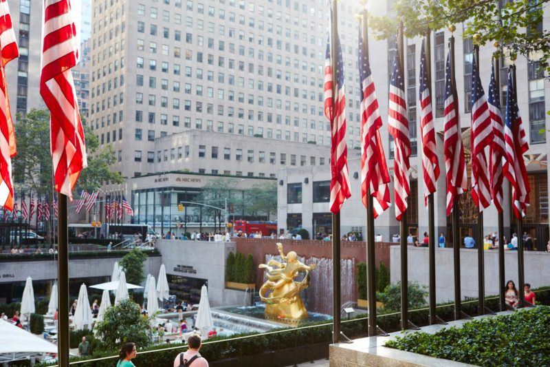 Rockefeller Center | attractions near The Jewel Hotel NYC